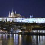 Night view of Prague
