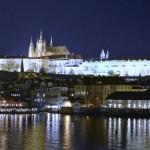 Night view of Prague